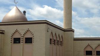 Islamic Center Of Central Missouri Against Cloudy Sky