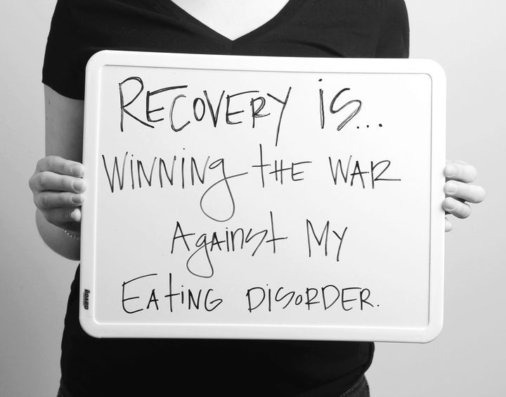 """For Project Heal's """"Recovery Is"""" campaign, eating disorder survivors defined the word """"recovery."""""""
