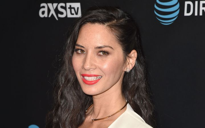 Actress Olivia Munn attends the DirecTV Super Saturday Night at Pier 70 on February 6, 2016 in San Francisco, California.