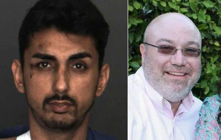Alex Mark Demetro, 28, of Union City, California (left), faces felony charges after a test drive that killed Warren Smale, 43