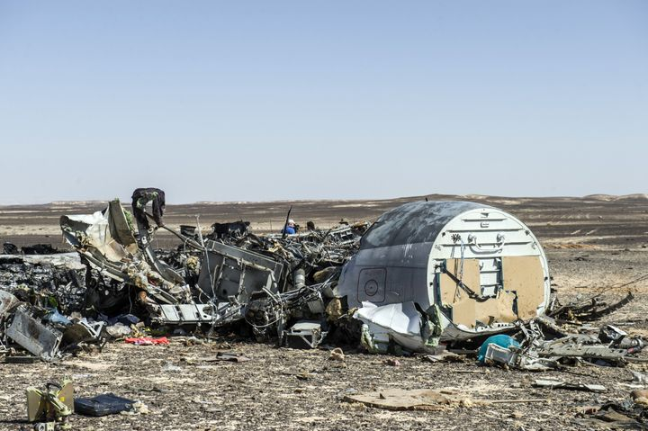 For the first time, Egyptian President Abdel Fattah al-Sisi said the Russian airliner that crashed on Oct. 31, 2015 was
