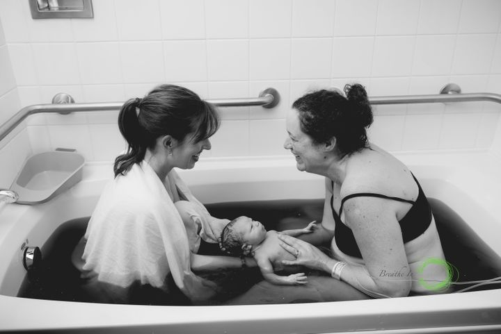 Birth photographer Kim Brooks captured an incredibly moving surrogacy experience.