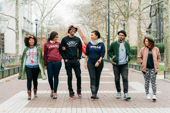 School of Thought crewnecks are available in six different designs.