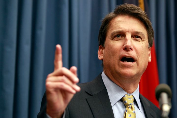 """Gov. Pat McCrory says the bill could """"create major public safety issues"""" for North Carolina residents."""