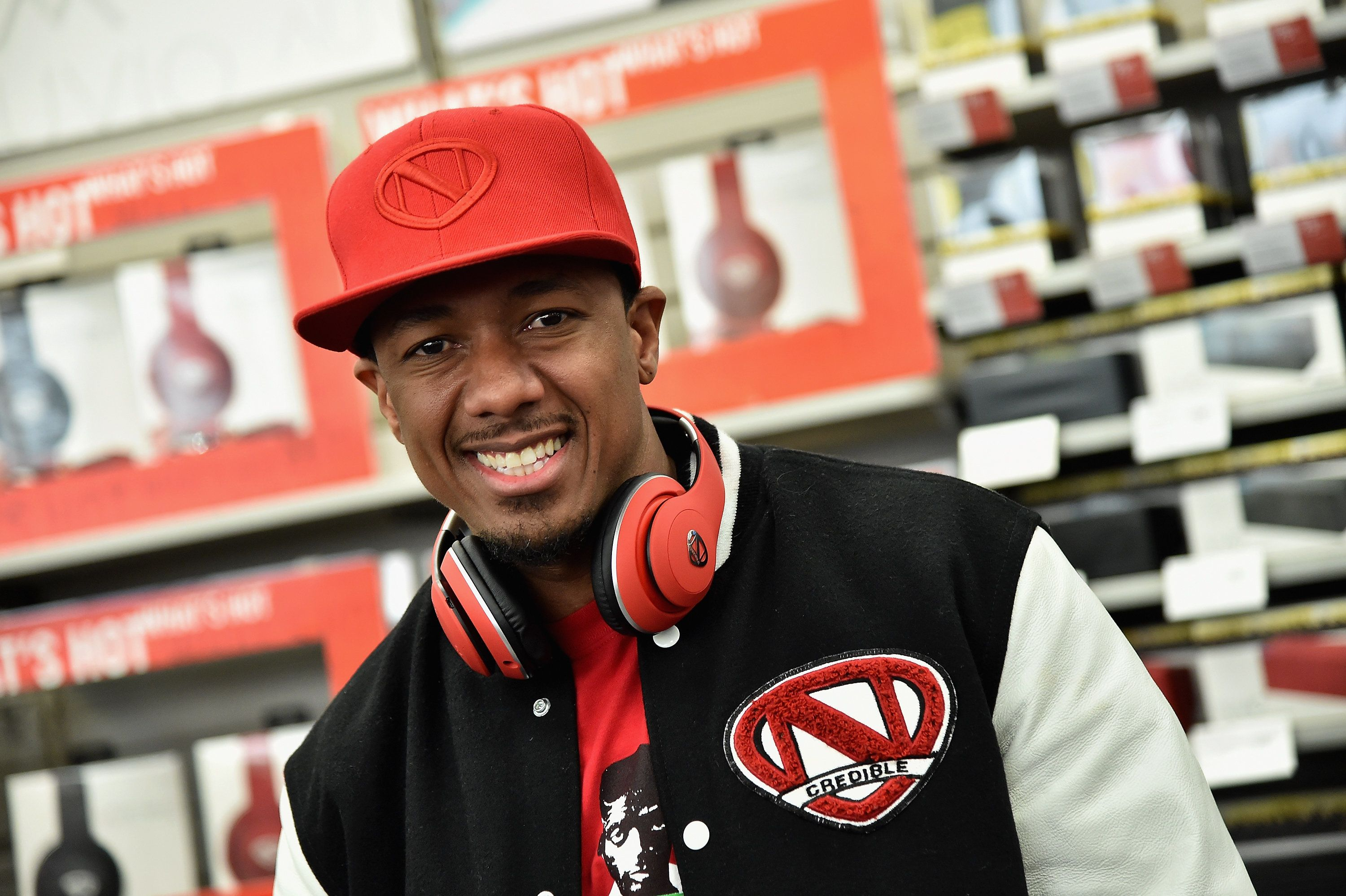 NEW YORK, NY - FEBRUARY 23:  RadioShack And Chief Creative Officer Nick Cannon Launch Ncredible Product Line on February 23, 2016 in New York City.  (Photo by Mike Coppola/Getty Images for RadioShack)
