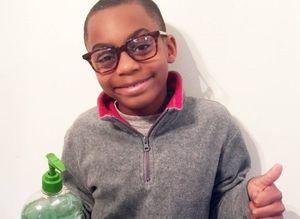 Isiah Britt Hand Sanitizer Flint