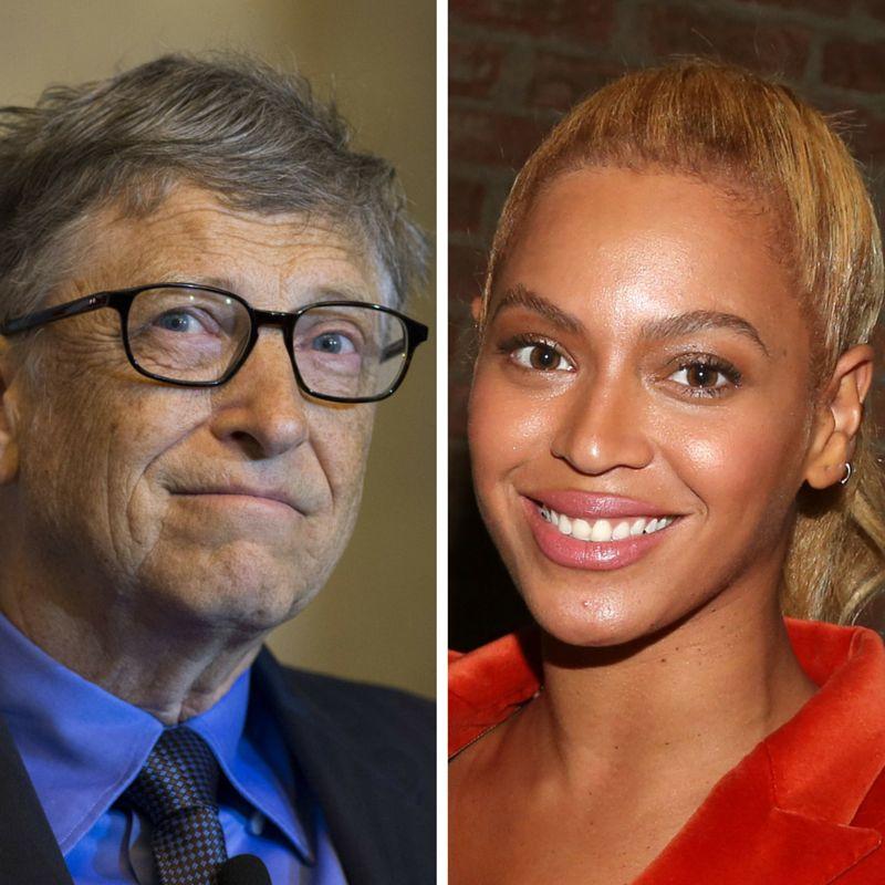 "Bill, met Bey. She also ""runs the world."""