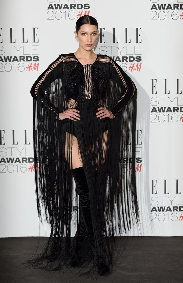 At theElle Style Awardsin London, England.