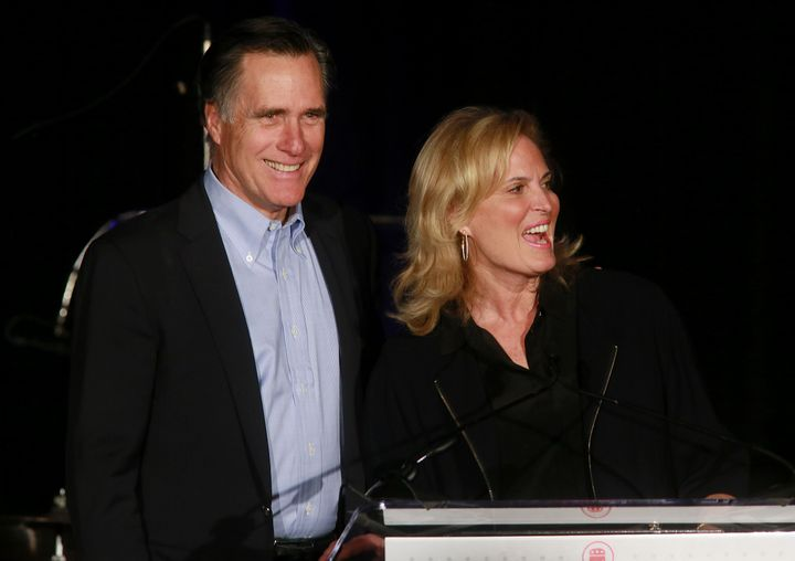 Former Republican presidential candidate Mitt Romney and his wife Anne Romney have likely already stopped contributing to Soc