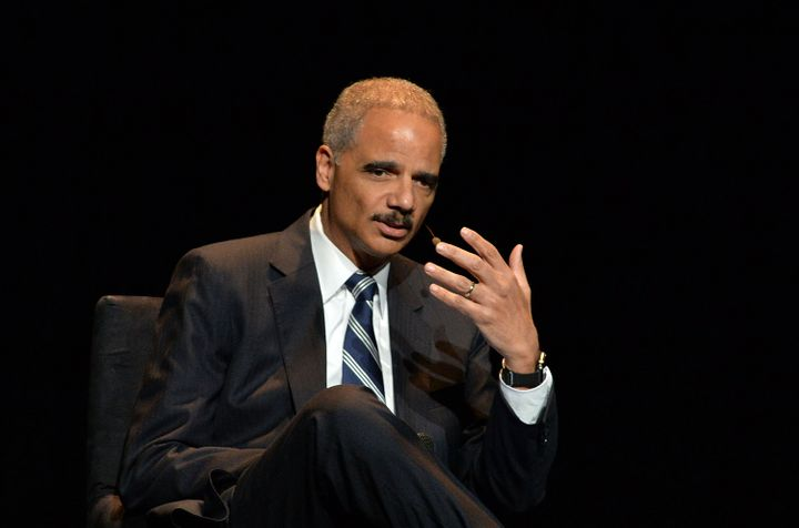 Former Attorney General Eric Holder believes marijuana should no longerbe classified asa Schedule I drug, he said