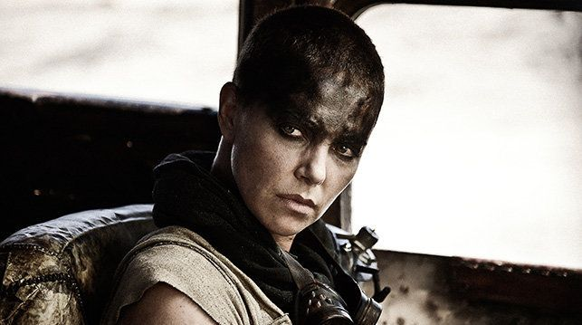 Actress Charlize Theron plays Furiosa.