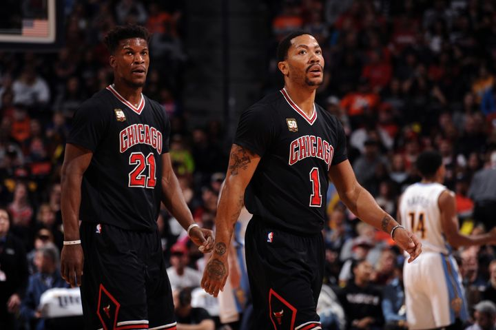 Despite their individual prowess, neither Butler nor Rose have played well together.