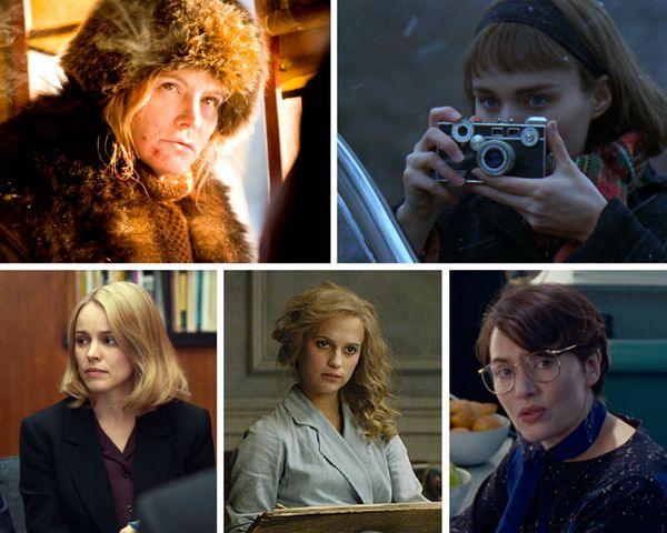"<strong>Nominees: </strong>Jennifer Jason Leigh, ""The Hateful Eight"" / Rooney Mara, ""Carol"" / Rachel McAdams, ""Spotlight"" / A"