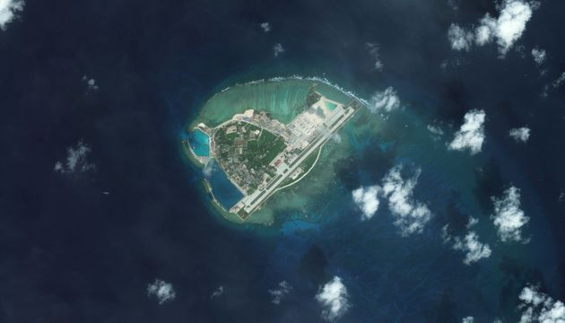 The South China Sea, a popular trading route that holds a mother lode of natural oil and gas reserves,...