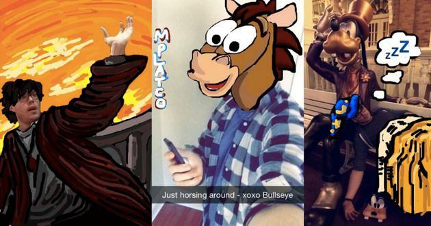 Mike Platco (mplatco) has mastered the art of Snapchat, quite