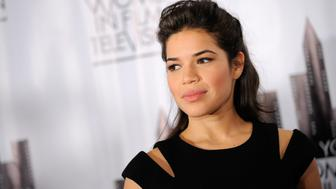 NEW YORK - DECEMBER 09:  Actress America Ferrera attends the New York Women in Film & Television 29th Annual Muse Awards at the Hilton Hotel on December 9, 2009 in New York City.  (Photo by Jemal Countess/Getty Images)