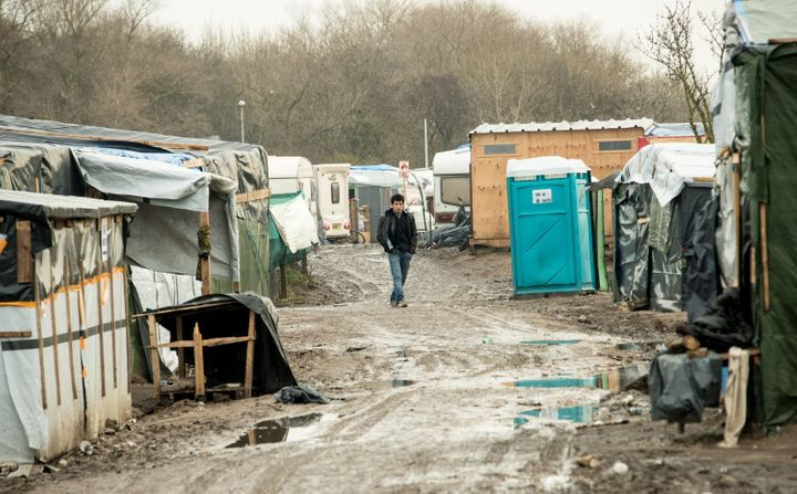 "A French judge on Thursday gave the go-ahead to demolish part of the ""Jungle,"" a makeshift refugee camp in Calais, France."