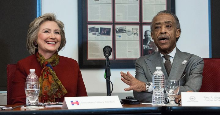 Rev Sharpton said if Hillary Clinton continues to get questioned about past comments about race, she has to be open to answer