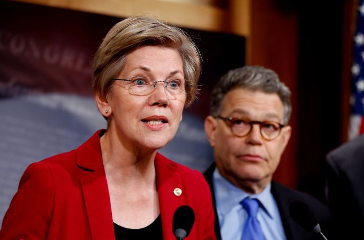 Because she's such a staunch Wall Street critic, many called on Sen. Elizabeth Warren (D-Mass.) to run for the Democratic nom