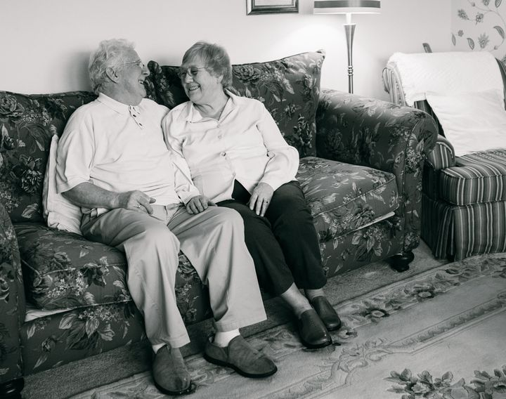 """Ray was diagnosed with Alzheimer's four years ago. To this day, no matter what happens to him, if you ask him what he would like to do, he always responds, with, 'Whatever Tess wants to do' That is the one thing he never seems to forget!"" <i>- Tess & Ray, married 54 years at the time of the interview</i>"