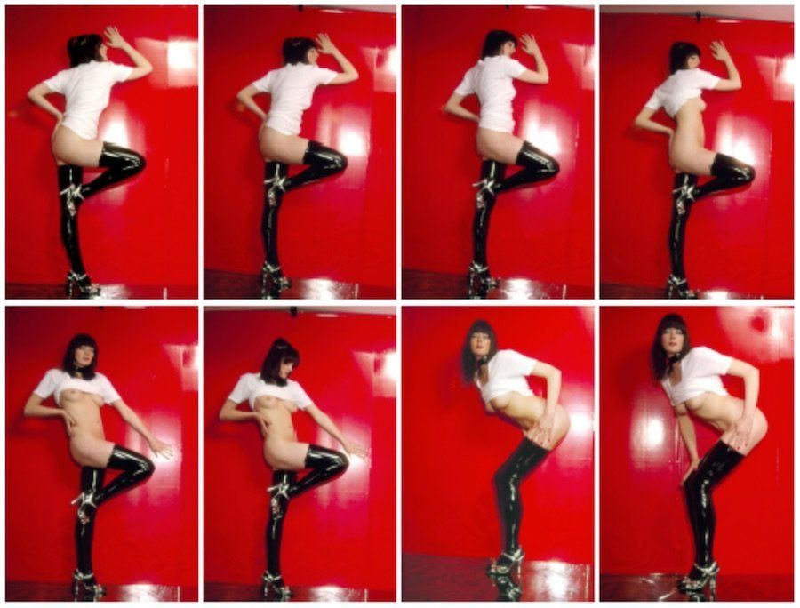 Cosey Fanni Tutti, Szabo Sessions 2010 Volume I 4 Poses, 28 Giclée Prints Edition of 10 Closed dimensions: 53 x 37 x