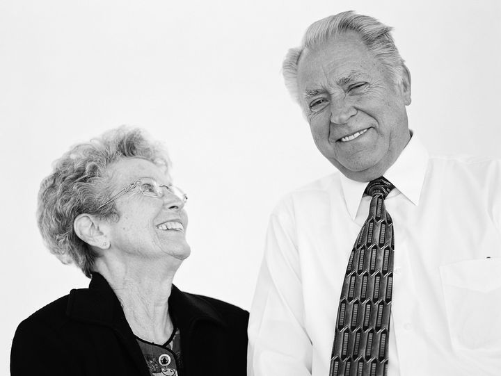"""We met in an economics class. I was just studying the young lady in the class. Life is so uncertain. You need to have faith. When we got married, we did not have a lot. We just jumped in with both feet and started working. It will always take effort. We are closer now than we have ever been in our entire lives!""<br /><i>- Mervin & Carolyn, married 56 years at the time of the interview</i>"