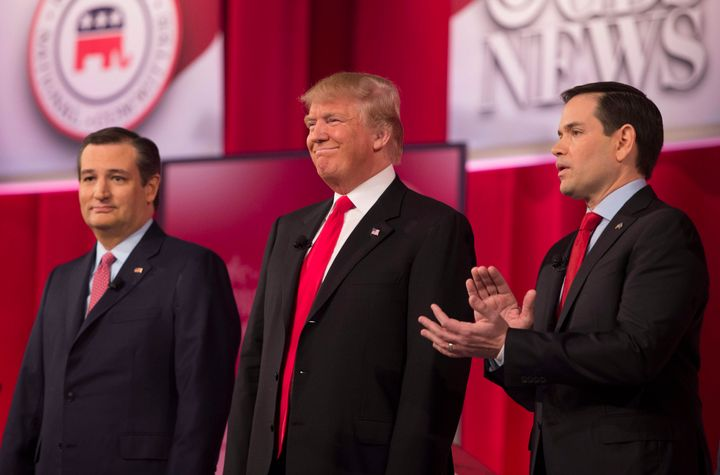 GOP presidential candidates Ted Cruz (left) and Marco Rubio (right) need to pick up some delegates in the upcoming primaries