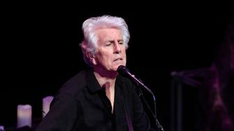 LOUISVILLE, KY - FEBRUARY 09:  Graham Nash performs at Brown Theatre on February 9, 2016 in Louisville, Kentucky.  (Photo by Stephen J. Cohen/Getty Images)
