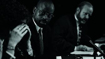 THE PEOPLE v. O.J. SIMPSON: AMERICAN CRIME STORY -- Pictured: Sterling K. Brown as Christopher Darden. CR: Michael Becker/FX Networks
