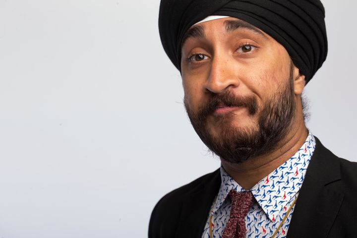 Jasmeet Singh, a Canadian comedian, was detained in an airport last month.