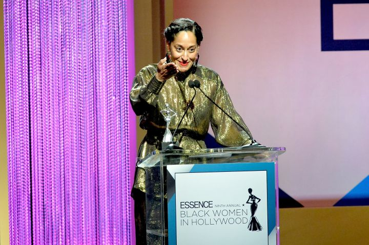 Tracee Ellis Ross onstage during the 2016 ESSENCE Black Women In Hollywood awards luncheon.