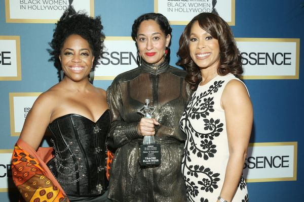 (L-R) Rhonda Ross Kendrick, Tracee Ellis Ross, and SVP, Drama Development at ABC Studios Channing Dungey.