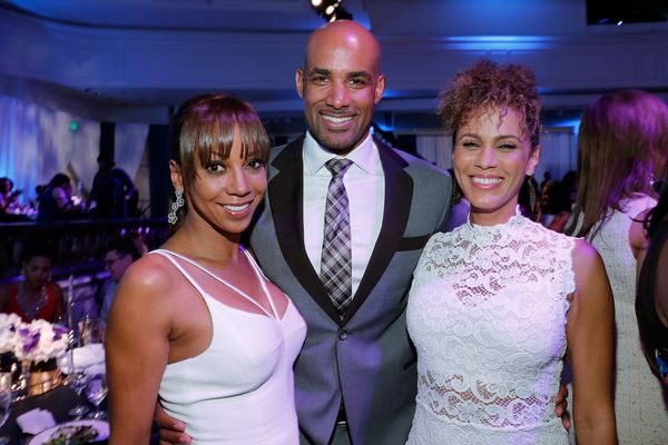 (L-R) Actors Holly Robinson, Boris Kodjoe, and Nicole Ari Parker.