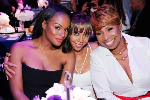(L-R) Actress Tika Sumpter, actress Holly Robinson, and author Iyanla Vanzant.