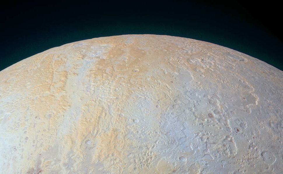 The remarkable topography of a dwarf planet.