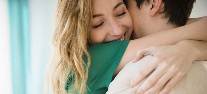 Never underestimate the power of a nice, long hug.