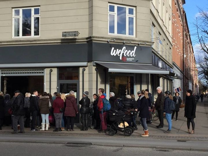 Although WeFood has only been open for a few days, it has already been a huge success, and Danish food and environment m