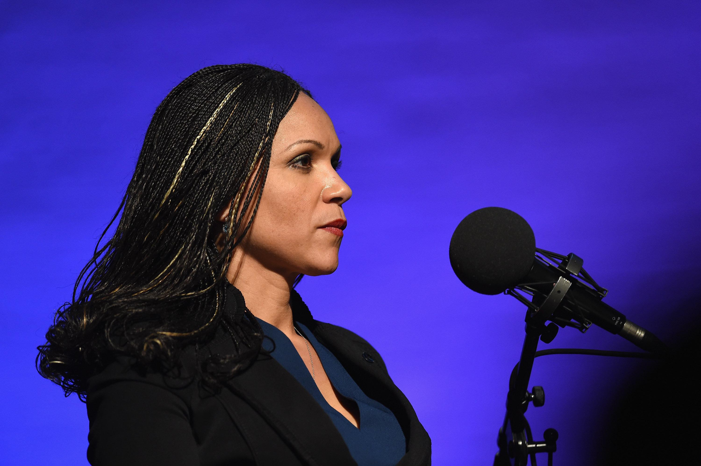 NEW YORK, NY - JANUARY 18:  Melissa V. Harris-Perry, Host, MSNBC's 'Melissa Harris-Perry' at The Apollo Theater on January 18, 2015 in New York City.  (Photo by Shahar Azran/WireImage)