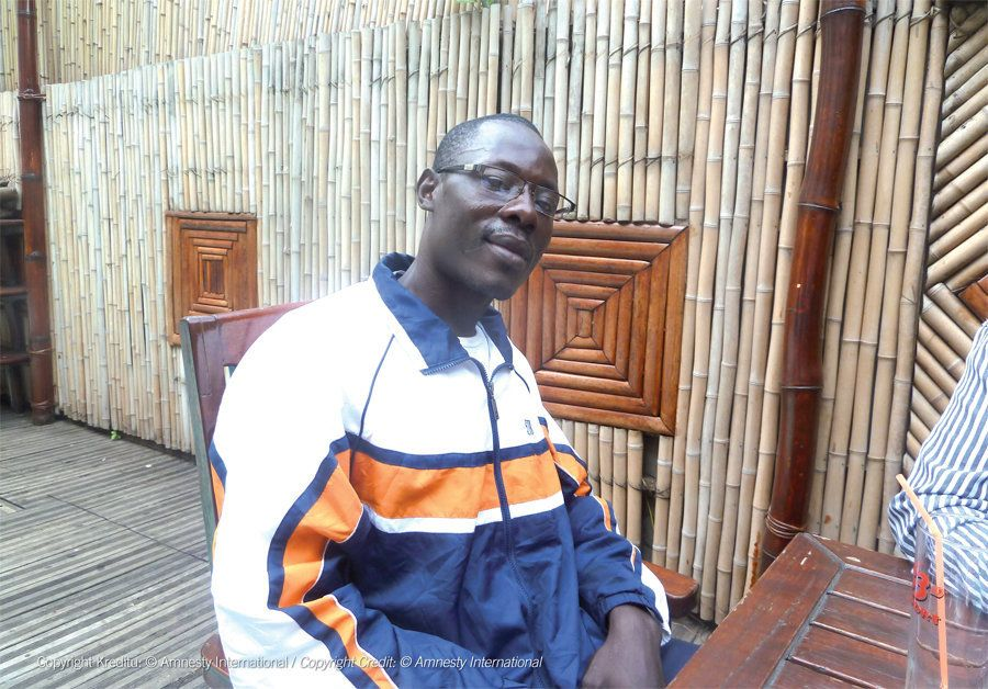 Jean-Claude Roger Mbédé, 34, hid from the authorities until his death to avoid going back to prison. A prisoner