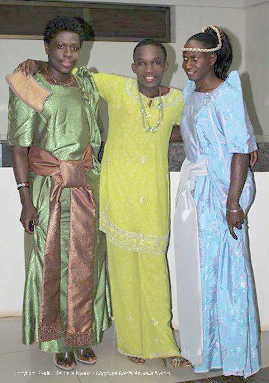 Keem Love, Franco and Princess Emilia, Ugandan LGBTI activists proudly claiming their right to be who they are. In Uganda, tr