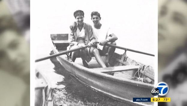 """It started in the row boat,"" Toots said of their relationship."