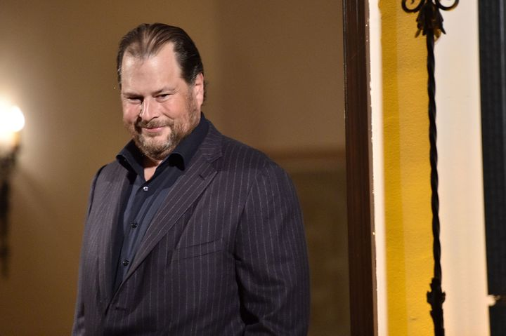 Salesforce CEO Marc Benioff won't back down when it comes to equality for all.