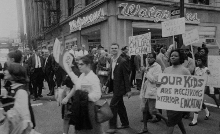 The 1963 Chicago Schools Boycott.