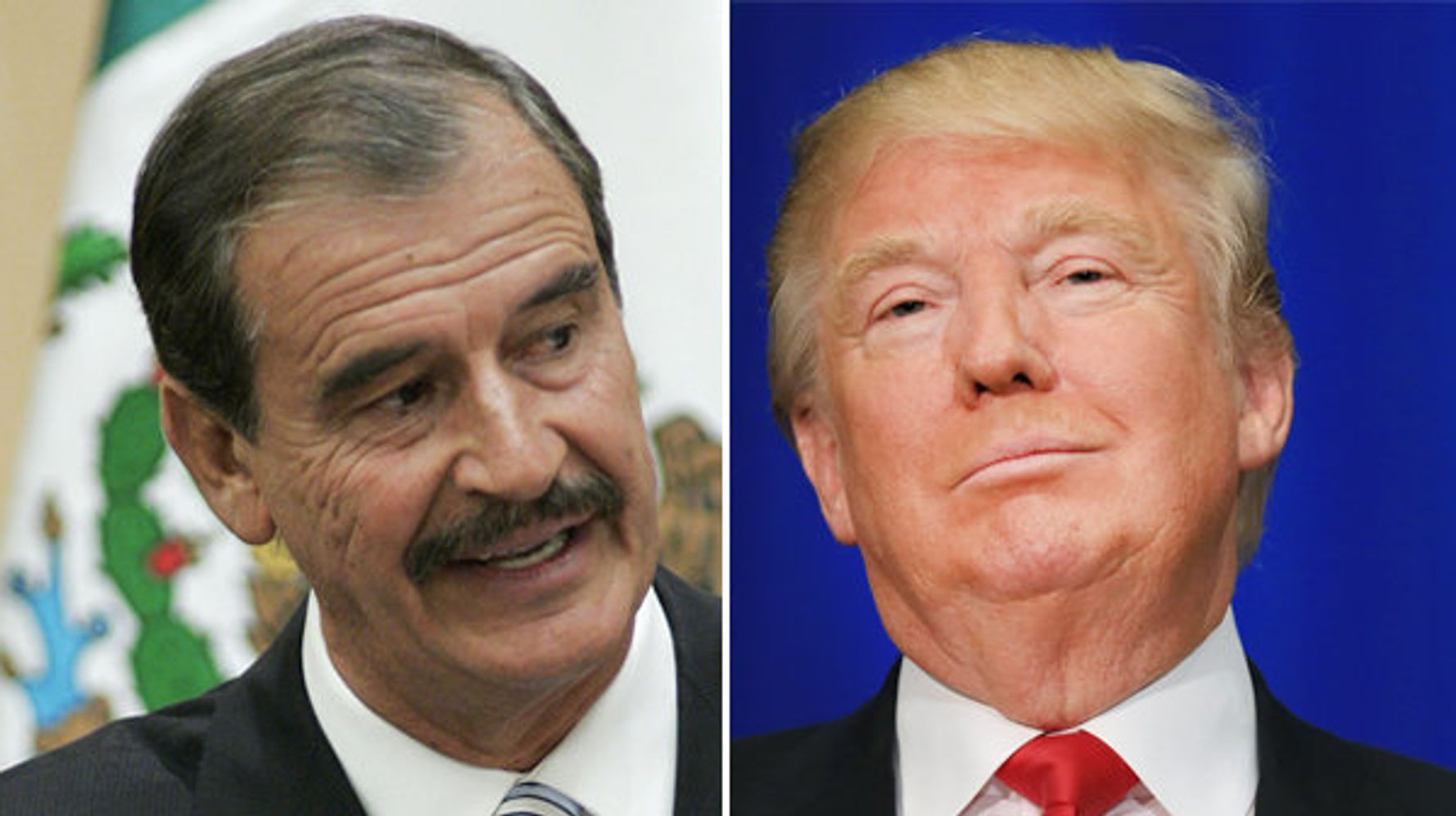 Ex-Mexican President Vicente Fox: Donald Trump 'Reminds Me Of Hitler'