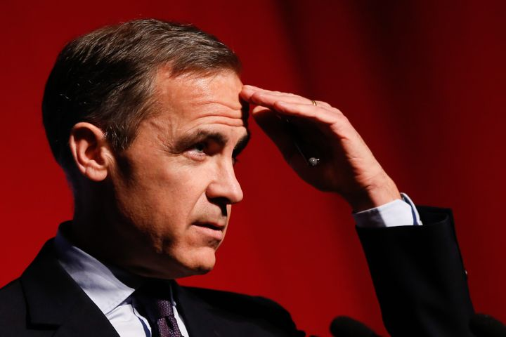 Mark Carney, the U.K.'stop central banker,says insurers may be undervaluing their potential risks by 50 percent.&