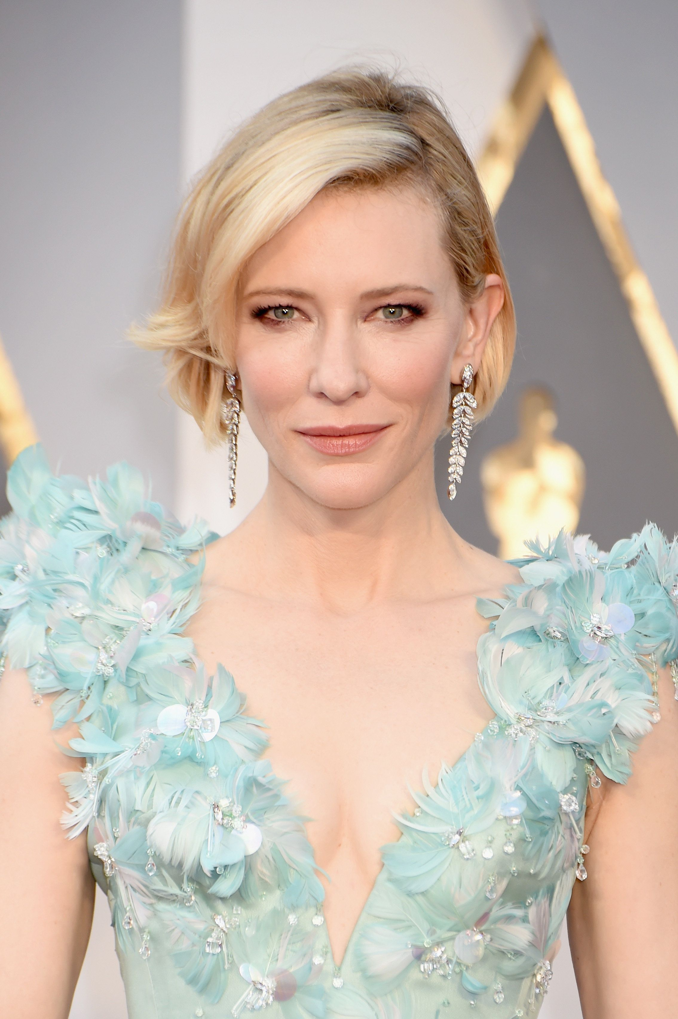 Cate Blanchett attends the 88th Annual Academy Awards.