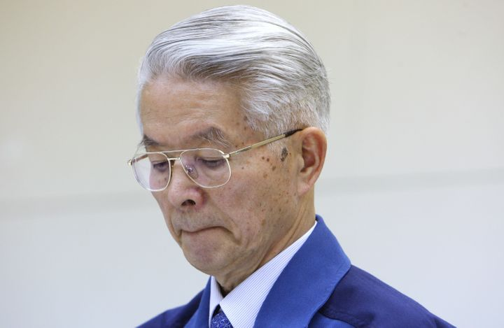 Former chairman Tsunehisa Katsumata was one of three executives indicted for failing to take safety measures to prevent