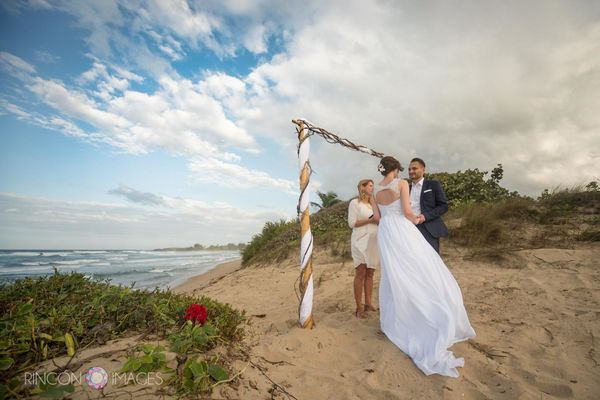 """This beautiful elopement on a deserted beach in the Borinquen area of Puerto Rico was exactly what Kait and Sky wanted"