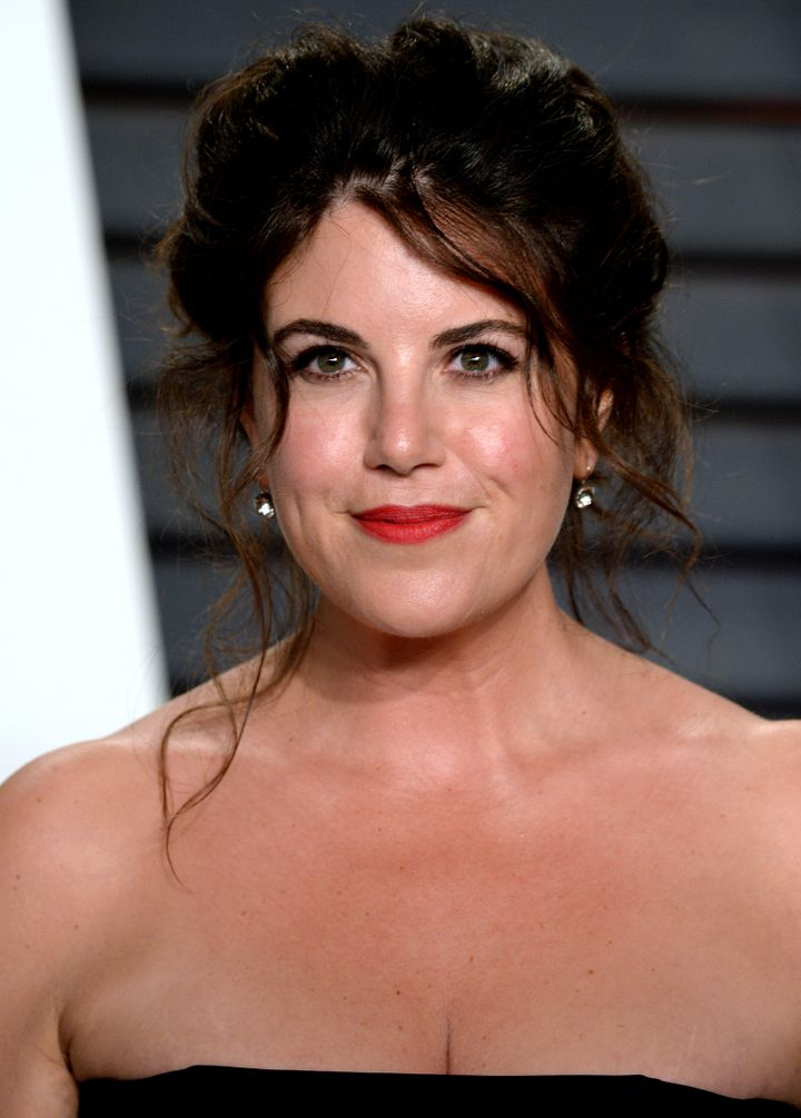 Monica Lewinsky attends the 2016 Vanity Fair Oscar Party hosted By Graydon Carter at Wallis Annenberg Center for the Performi
