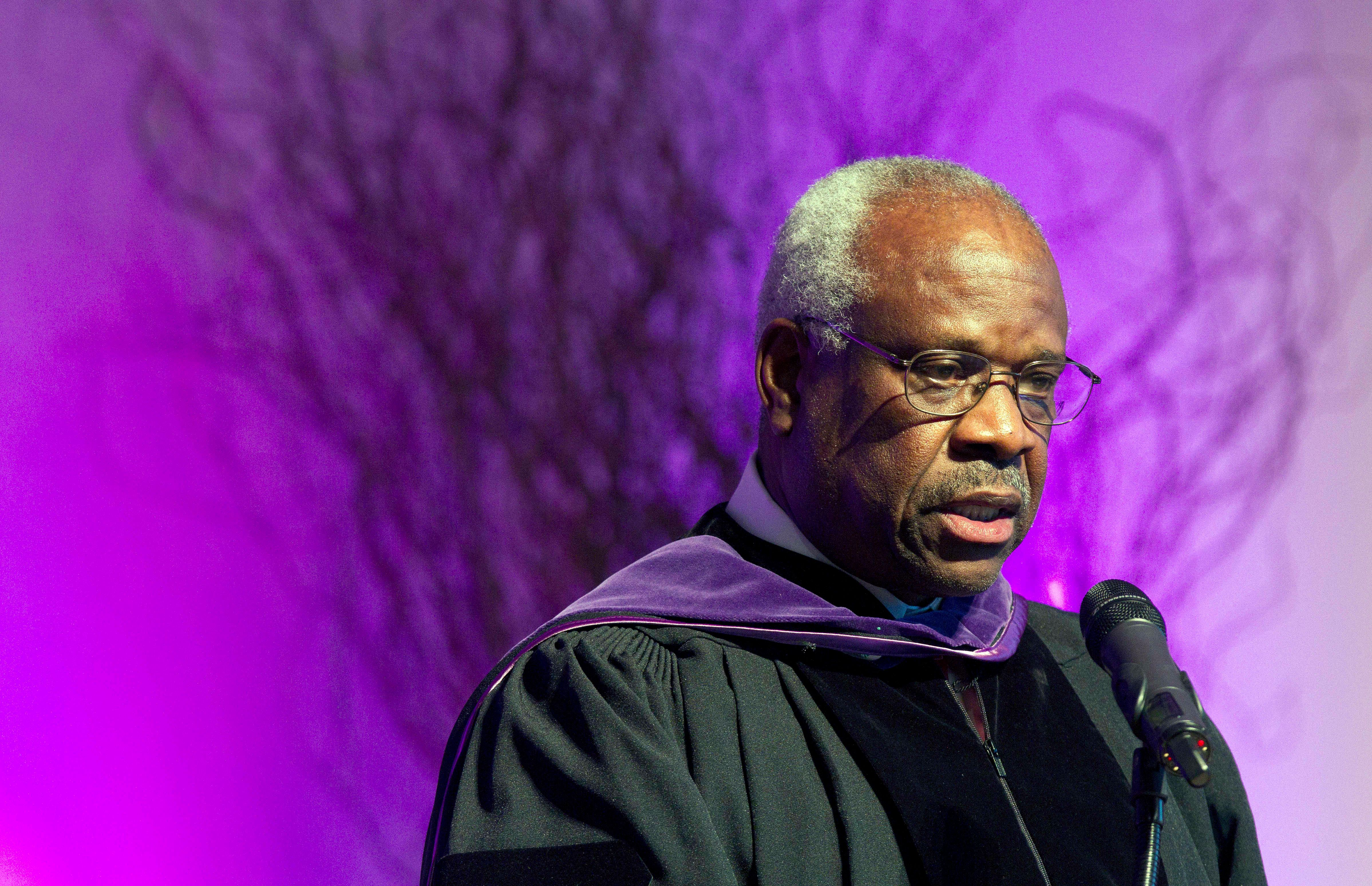 Justice Clarence Thomas spoke up from the bench for the first time in 10 years to stand up for gun rights.